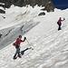 Lapinou conquérant dans la montée au Grassenjoch
