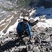 Hier noch zwei Bilder von © Meinrad; weit unten ist Obersand:<br />Es hat zwar einige lose Steine, ..<br />