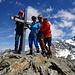 Freude ob des gelungenen Tour- und Gipfelerlebnis'