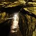 im langen Tunnel beim Fort Gondo