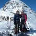 auf dem Colle di Moncorvè mit Ciaforon im Hintergrund