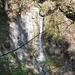Einblick in den ersten Wasserfall