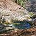 Das Wasser fliesst von Becken zu Becken