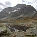 Pass Suvretta (2615m), dahinter der Piz Güglia (3380m)