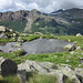 lI piccolo laghetto nei pressi dell'Alpe Testanera 2260 mt.