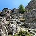 Die nächste Kletterstelle