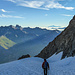 Abstieg über den Glacier du Tabuchet