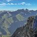 Kurze Kletterstelle über den rechten Begrenzungsgrat