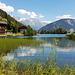 nochmals ein Blick zum See, bald gehts mit dem Bus ins Tal