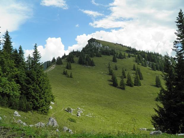 Aufstieg Richtung Lempersberg