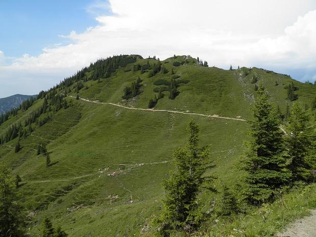 Lempersberg mit dem guten Wanderweg Taubenstein-Rotwand