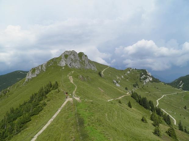 Kirchsteinsattel und die Wege zur Rotwand und Rotwandhaus