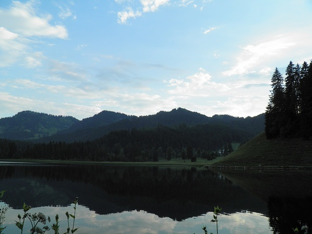 Abend am Spitzingsee