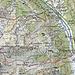 Rot: Erster Tag, 7,2 km Aufstieg 1414 HM, Abstieg 95 HM<br />Violett: Zweiter Tag, 11,2 km Aufstieg 315 HM, Abstieg 1632 HM<br />