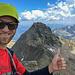 Auf dem höchsten Tessiner<br />Im Hintergrund der nächste Gipfel, viel folgen noch