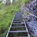 Nach einer Brücke führt der eigentliche Steig anfangs noch gut ausgebaut nach oben