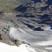 Schmelzender Gletscher