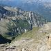 Valle di Pertüs - Abstiegsseite