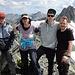 Gipfelfoto auf dem Scalettahorn