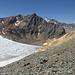 Fast unten am Gletschen, nahe Fuorcla Traunter Ovas.