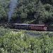 Die Furka-Dampfbahn fuhr heute gut besetzt über die Bergstrecke