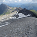 Wegspuren kurz vor dem Gipfel