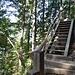 unzählige Treppenstufen sind zu bewältigen