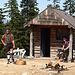Holzfäller-Show auf Grouse Mountain