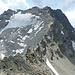 Gipfel erreicht! Sicht auf Fourcla Lagrev und Vadret Lagrev.