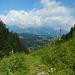Alpstein in Wolken