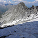 Abstieg durch die Nordostflanke von Brichlig / Piz Cavardiras