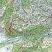 Route Malans-Fadärastein-Grüsch