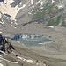 Blick hinunter zum Griess Gletscher-Seeli