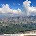 Panorama der anderen Seite vom Urnerboden, zur Bergkette
