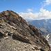 Blick zurück zum Gipfel Gemsfairenstock