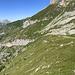 un bel tratto di sentiero verso la Rugghubelhütte già percorso...
