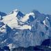 Rosenhorn,Mittelhorn,Wetterhorn e Monch (è visibile pure la punta dell'Eiger..)