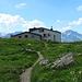il rifugio Rugghubelhütte