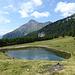 Der kleine See heisst Hatzlacke