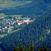 Blick aufs Kloster Ettal