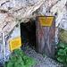 Ausgang der Grottes de Naye