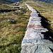 The Wall, début de l'itinéraire blanc-bleu-blanc pour l'Äusser Rothorn.