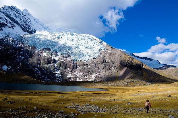 Auch diese Gletscher schwinden laut Auskunft der Einheimischen