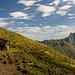 Die Älplerhütte in Nähe des Schmalhorns.