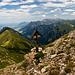 Marterl beim Abstieg vom Wildengundkopf.