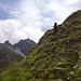 Kurz etwas steiler auf den letzten Metern zum Miezgi (Foto: K)