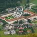 Das Kloster Ettal vom Ochsensitz aus gesehen