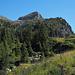 Blick von der Alp Oberbägli auf das Rothorn