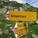 salendo verso la Schwarzhornfurgga