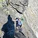 Reto im Aufstieg zum Bergseeschijen.